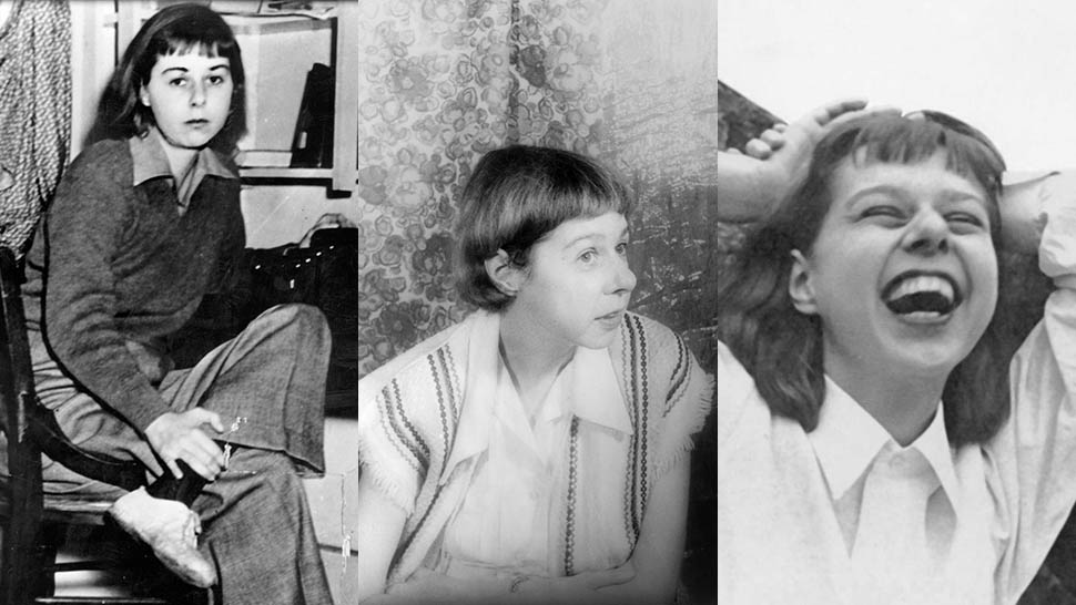 multiple photos of Carson McCullers