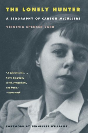 book cover for a Carson McCullers biography